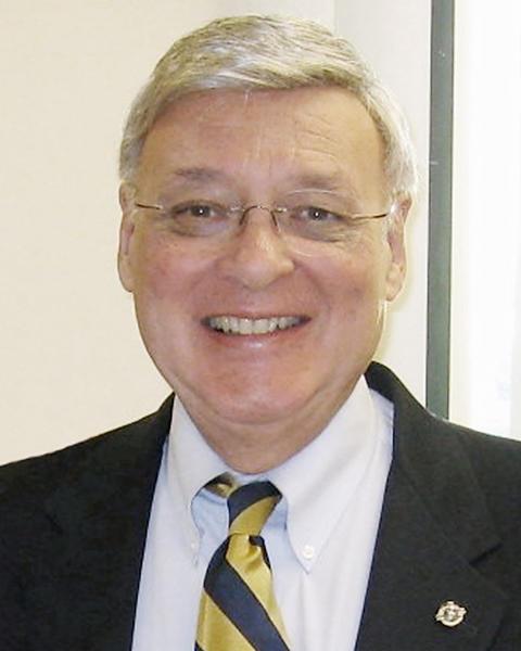 Italian Catholic Federation Branch 374 President Al Restivo.