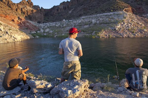 More than a decade of drought has left Lake Mead on the Colorado River 47% full. Deliveries from Mead are an important source of water for Southern California.