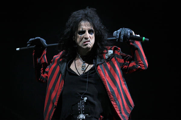 Alice Cooper, 65, the original shock-rocker, performs at Segerstrom Center for the Arts in Costa Mesa on Tuesday.