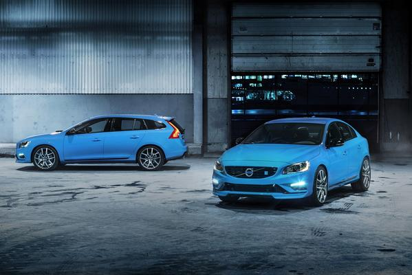 Volvo S60 and V60 Polestar edition