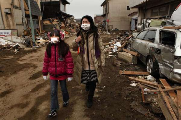 In the weeks after a magnitude 9.0 earthquake and tsunami struck near Sendai, Japan, cases of heart attacks rose sharply in the three prefectures most affected, according to a new study.