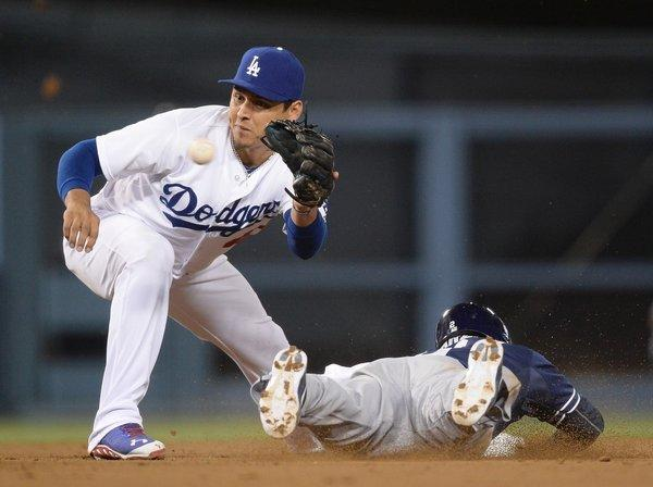 Luis Cruz played in 61 games for the Dodgers and Yankees last season, batting only .145 with one home run and 11 RBIs.