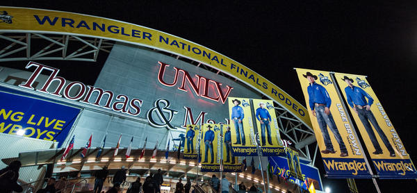 The Wrangler National Finals Rodeo returns to the Thomas & Mack Center in Las Vegas starting Dec. 5.