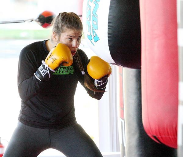 Marina Shafir looks to improve to 4-0 in the world of amateur mixed martial arts on Friday.