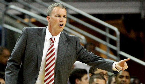 USC Coach Andy Enfield and University of Texas-El Paso Coach Tim Floyd got into a heated verbal exchange during a dinner ahead of the schools' participation in the Battle 4 Atlantis tournament in the Bahamas, according to a Sports Illustrated report.