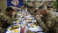 Photos: Troops give thanks overseas