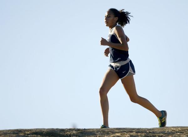Sarah Yoho and the Flintridge Prep girls' cross-country team are looking for a state title.