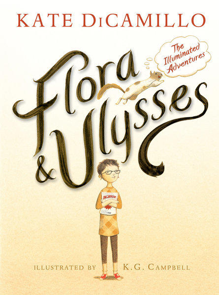 """Flora & Ulysses"" by Kate DiCamillo follows a young girl who discovers a squirrel that has superpowers."