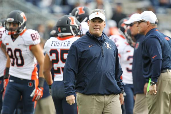 Questions about Tim Beckman's future with the Illini continue.