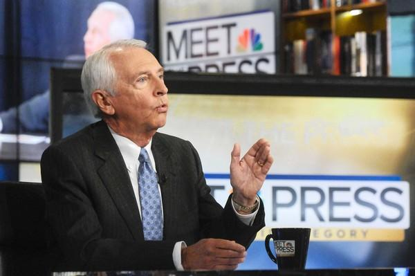 "Democratic Kentucky Gov. Steve Beshear, an ardent proponent of President Obama's healthcare law, appears last month on NBC's ""Meet the Press."""