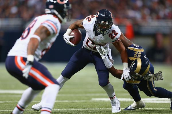 Bears coach Marc Trestman is optimistic Matt Forte can play Sunday after he hyperextended his knee against the Rams