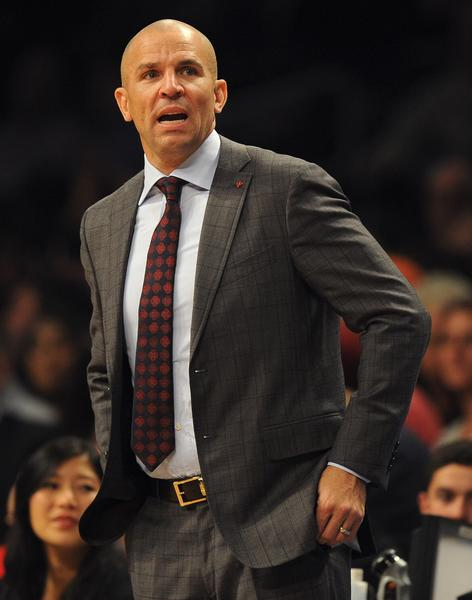 Yahoo reported that Nets coach Jason Kidd would be fined $50,000 for spilling his drink on the floor to get an extra timeout Friday against the Lakers.