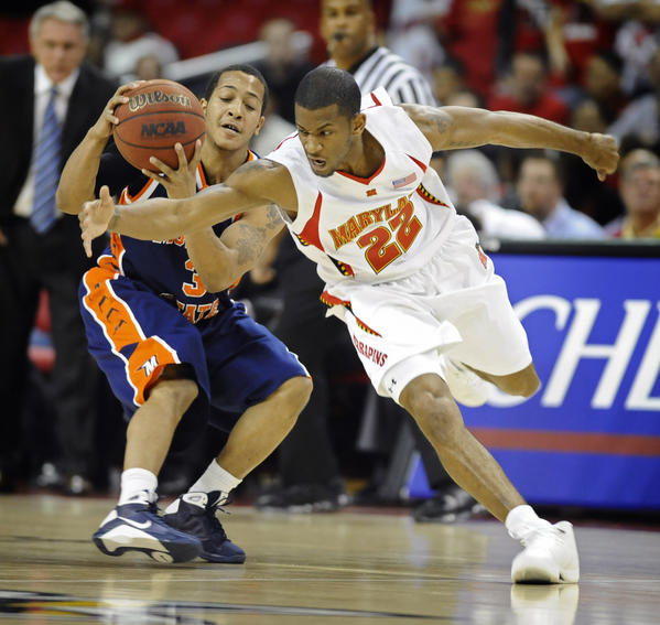 In their last meeting, Maryland and Adrian Bowie were upset at home by Morgan State and Jermaine Bolden, 66-65, on Jan. 7, 2009.