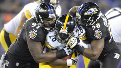 Ravens hold off Steelers' rally for 22-20 victory on Thanksgivi…