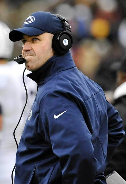 Penn State Nittany Lions head coach Bill O'Brien