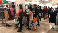 For some, Black Friday shopping began on Thanksgiving