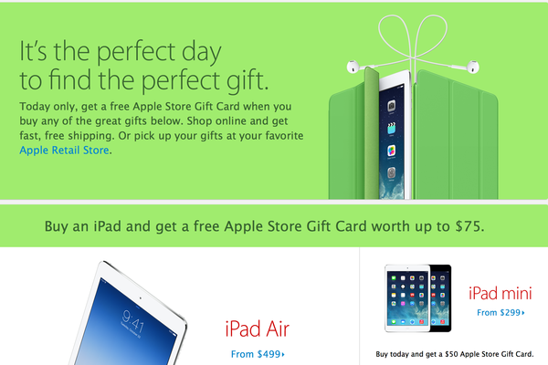 Apple is offering Black Friday deals, but other retailers have better offers on Apple products.