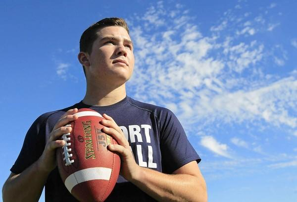 Newport Harbor High quarterback Cole Norris is the Daily Pilot High School Football Player of the Week.