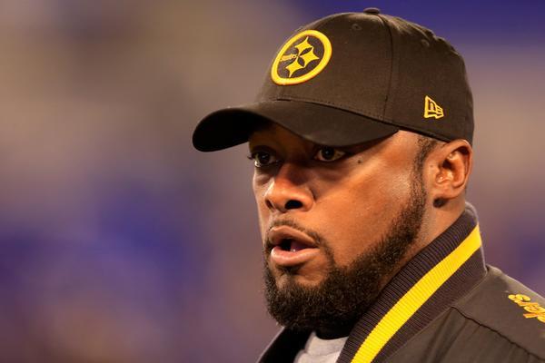 Steelers coach Mike Tomlin.
