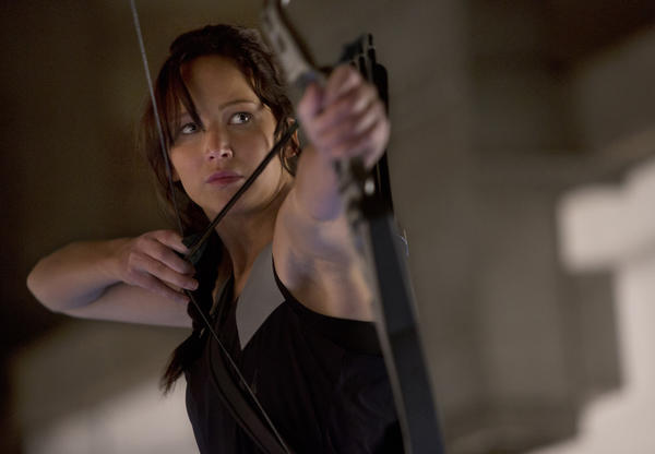"Jennifer Lawrence stars in ""The Hunger Games: Catching Fire,"" which has broken the box office record for Thanksgiving Day and could bring in the biggest-ever gross for the five-day weekend."