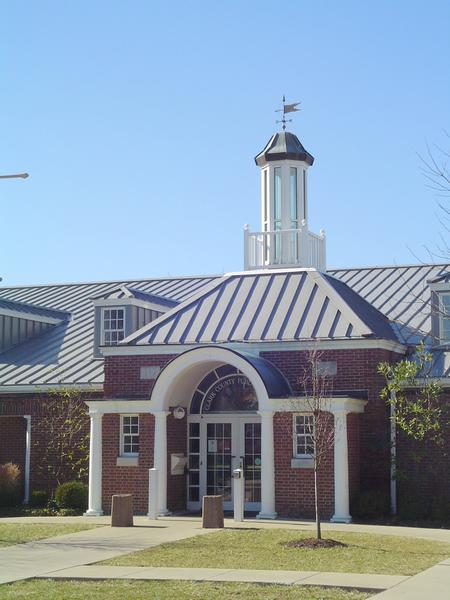 The Clark County Public Library in Kentucky was the site of a Black Friday shopping crowd.