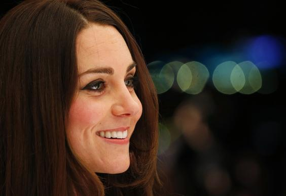 A close-up of the duchess at a gala dinner for the SportsAid charity on Nov. 28, 2013.