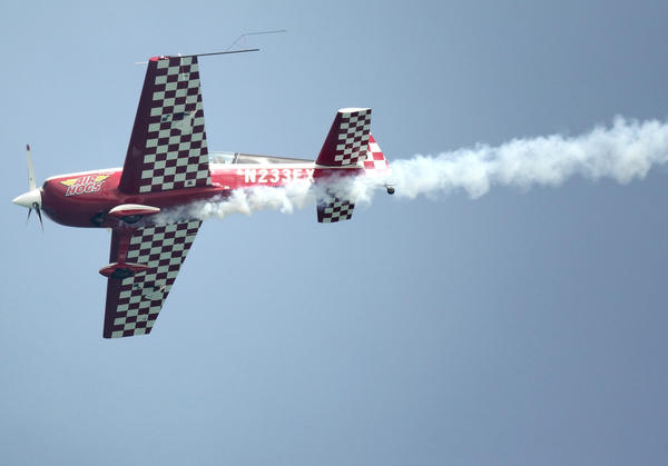 Air Hogs Extra 300 performs during the Lauderdale Air Show on April 21, 2013. File photo by Cristobal Herrera, Sun-Sentinel