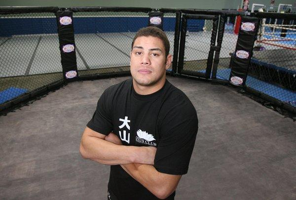 UFC heavyweight fighter Shane del Rosario is in critical condition at Hoag Hospital.