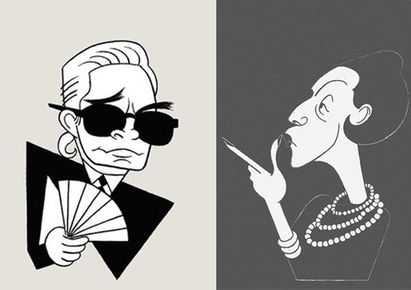 Karl Lagerfeld vs. Diana Vreeland: With two new books out, now is a good time to compare their barbs, quips and grenades.