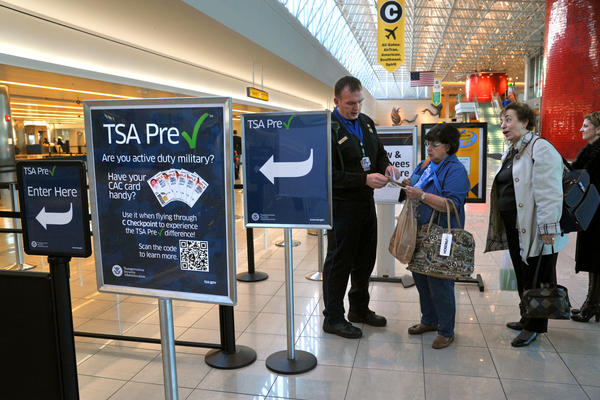 TSA PreCheck  security portal