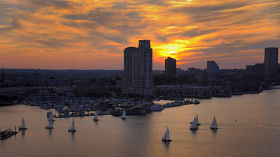 Reader SunShots: Sunset in the City