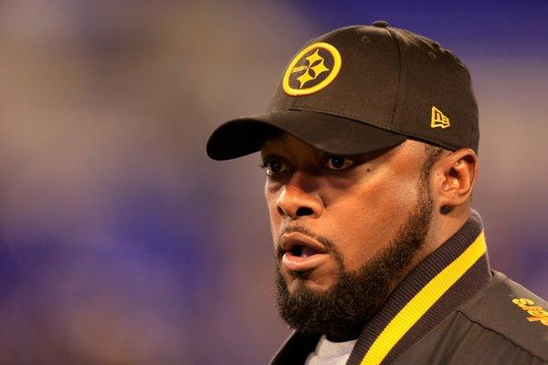 Steelers Coach Mike Tomlin's actions during Pittsburgh's Thanksgiving Day loss to Baltimore have been called into question after the coach wandered into the path of Ravens return man Jacoby Jones.