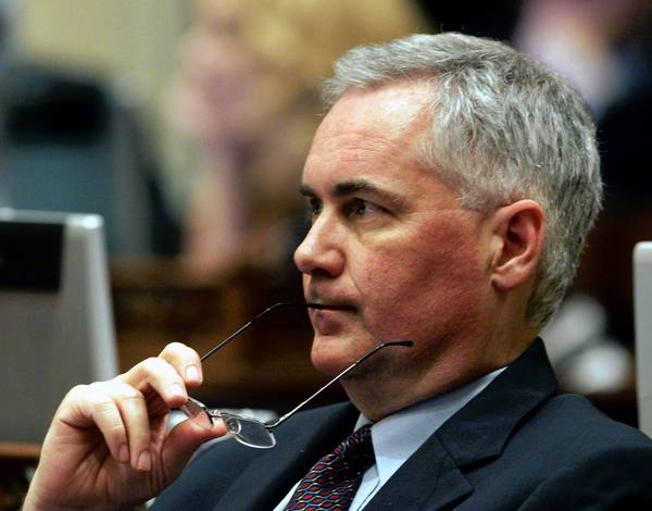 """California Republicans always tend to be independent cusses. I think it's a DNA thing,"" said Rep. Tom McClintock (R-Elk Grove), shown here in 2006, when he was a state senator from Northridge."