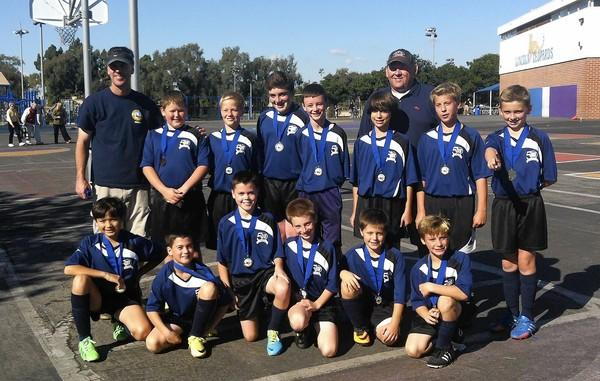 The Galaxy boys' U-12 team went unbeaten on its way to a Region 57 championship.