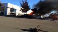 Video: Paul Walker's fiery wreck