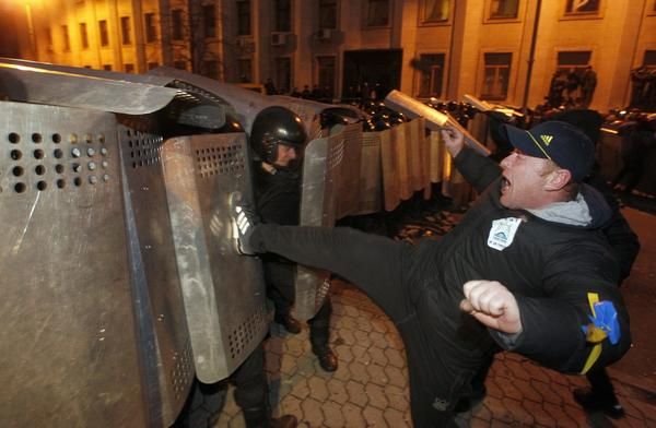 Ukrainians engage in mass protests - Protests in Ukraine