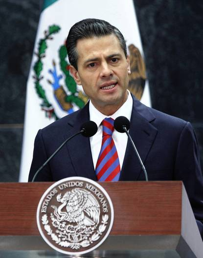 Enrique Peña Nieto in Mexico City