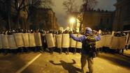 Ukraine protesters try to storm presidential headquarters