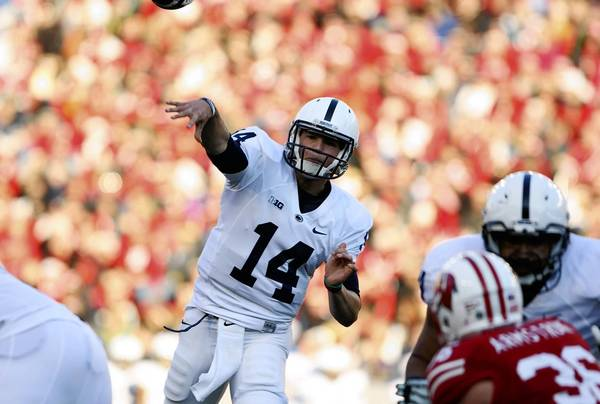 Penn State quarterback Christian Hackenberg had a solid season as a freshman.