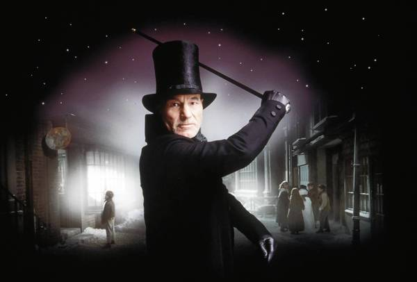 'A Christmas Carol' reamins a popular story that's been retold on stage and in the movies, includng when Patrick Stewart portrayed Ebenezer Scrooge for a 1999 television production on TNT.