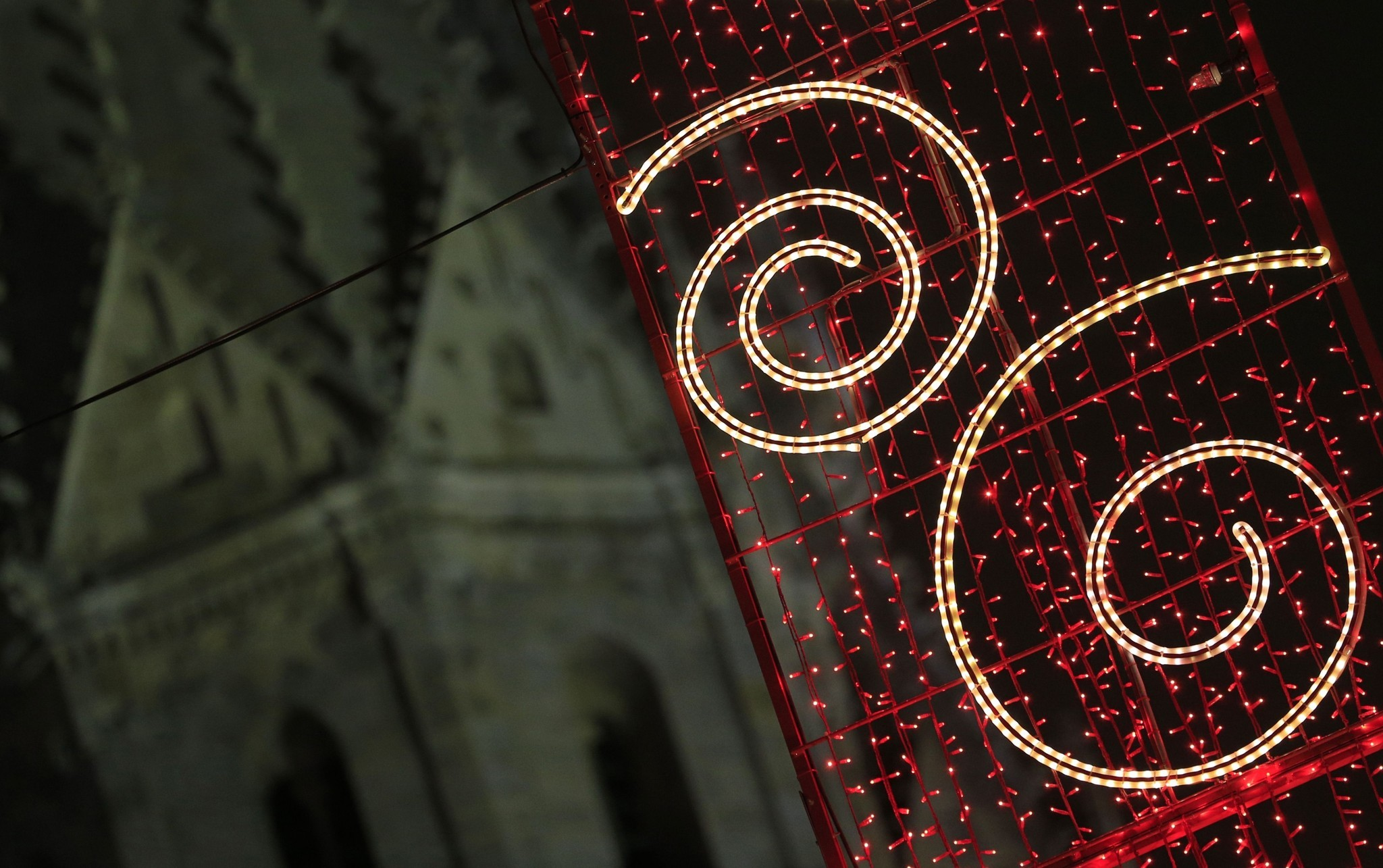 Pictures: Holiday lights from around the globe - Austrian Christmas