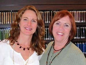 Jessica Kaplan Lundevall, on left, and Donna Zaidenberg are co-owners of Studio Beads in Deerfield.
