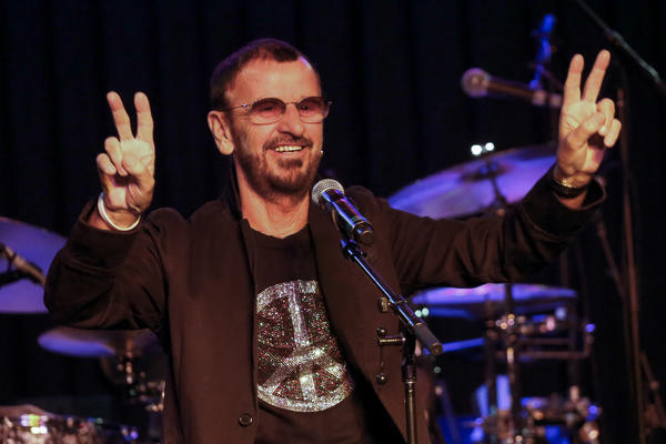 """Ringo Starr, during a performance Oct. 23 with his All Starr Band in Hollywood, gets his life story told in Mark Lewisohn's new biography """"Tune In: The Beatles: All These Years."""""""