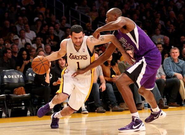 Jordan Farmar, Travis Outlaw