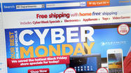 Cyber Monday, while less significant, could account for $2 billion in sales