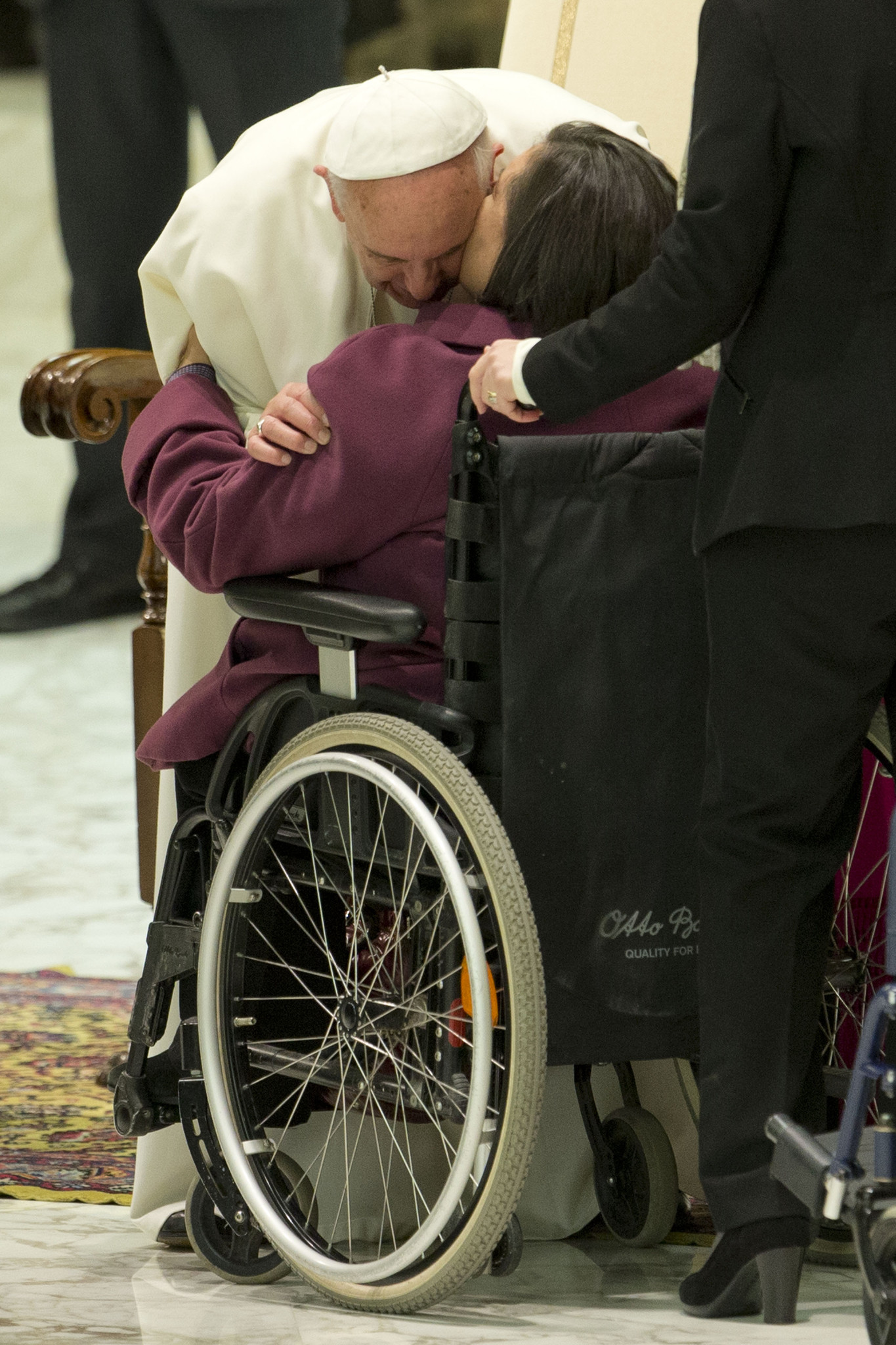 Pope marks one-year anniversary: Don't call him a rock star