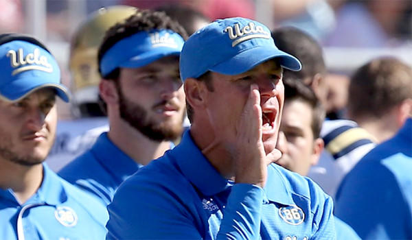With Washington's coaching position vacant because of Steve Sarkisian's departure, could UCLA Coach Jim Mora be tempted to return to his alma mater?