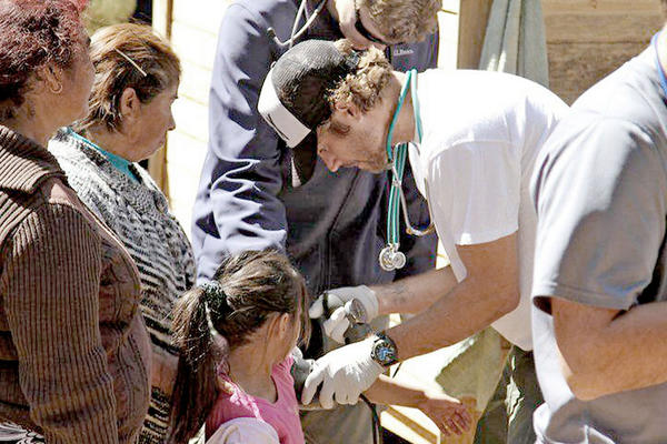 Actor Paul Walker traveled to Chile in 2010 on behalf of his Burbank-based charity, Reach Out Worldwide, to assist in relief efforts for earthquake and tsunami victims.