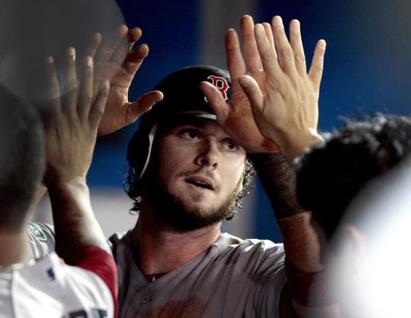 The Miami Marlins are among the teams in on free agent catcher Jarrod Saltalamacchia.