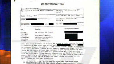 Porsche Memo Warned Dealers About Carrera GT